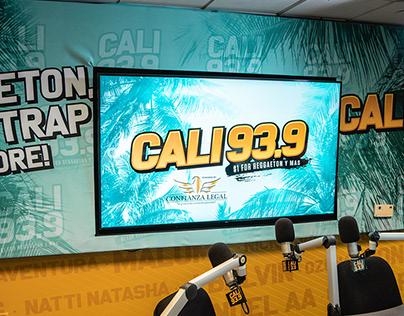 Cali 93.9 Complete Logo & Branding