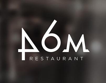 Restaurant DOM 46 / 2018