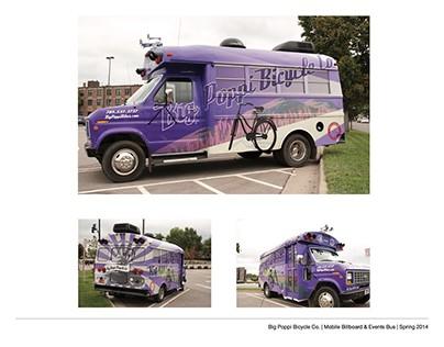 Big Poppi - Vehicle Wrap