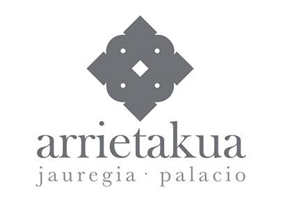 Logotipo para Palacio Arrietakua de Mutriku