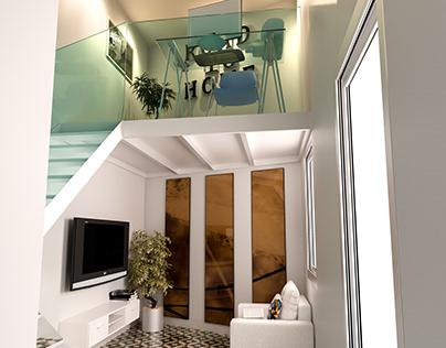 Piso de diseño. Promoción vivienda. Madrid