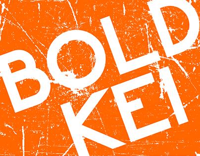 Bold Kei font