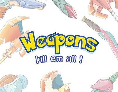 Weapons - Pokemon FanArt