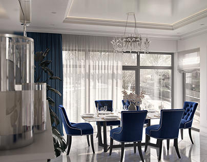 Apartment in classic style for young family