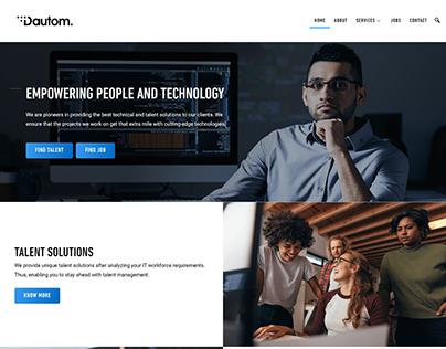 Dautom - IT consultancy based in United Arab Emirates.