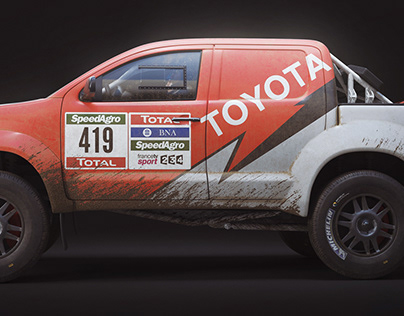 Toyota Hilux Dakar 3D