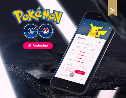 Pokemon GO - UI Redesign