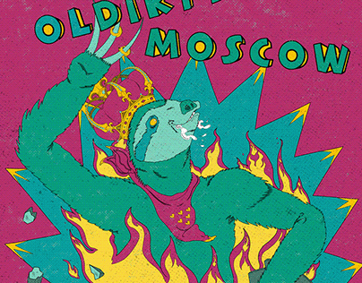 Ol' Dirty Moscow poster