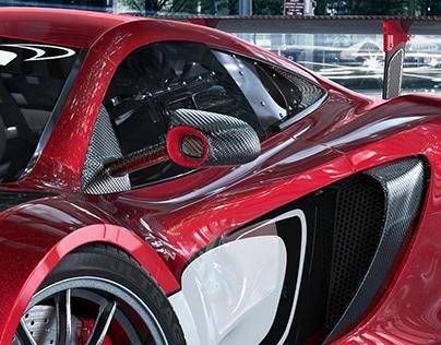 3D CGI CAR PHOTOGRAPHY | MCLAREN