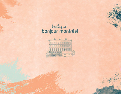Identité Visuelle - Bonjour Montréal