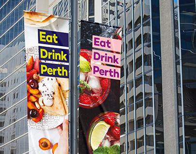 Eat Drink Perth Brand Identity