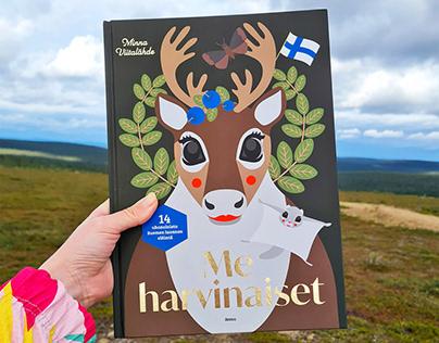 Me harvinaiset - Children's Nonfiction Picture book
