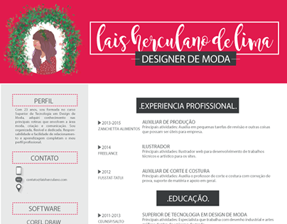 Currículo Pessoa - Laís Lima