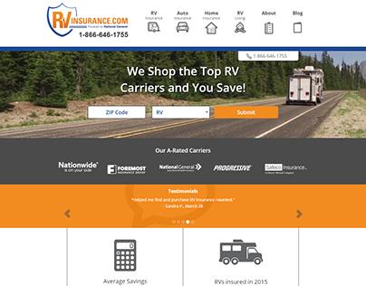 Insurance Website Promotional Video