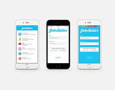 JobAdder UI and Graphic Design