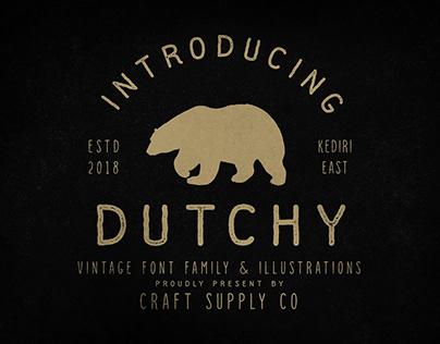 Dutchy - Vintage Type Family (Free Download)