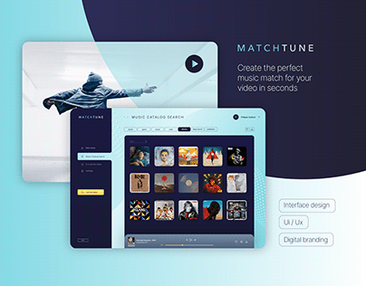 MatchTune - Interface Design