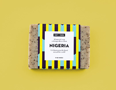 Baby Mama Soap — Packaging