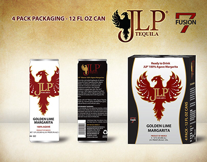 JLP Tequila Logo and Product Packaging Design (2011)