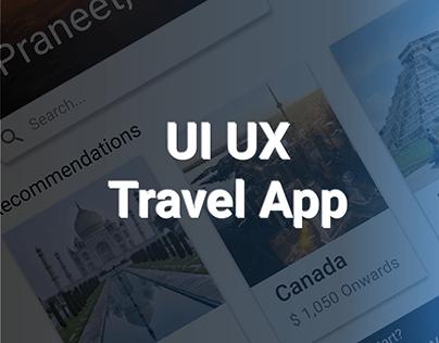 Trav App - UI UX
