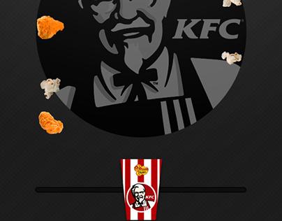KFC's Popcorn Chicken Challenge
