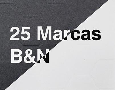 25 Logos B&W