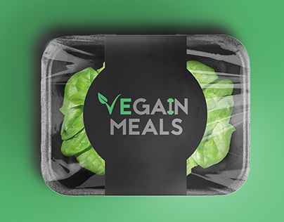 VeGain Meals Logo Design