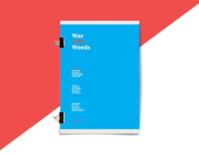 War of the Words: Design Talks