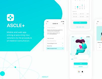 Ascle+ Medical App