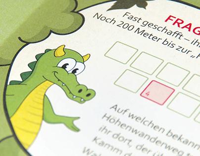 Drachenschlucht – Illustrationen und Flyer