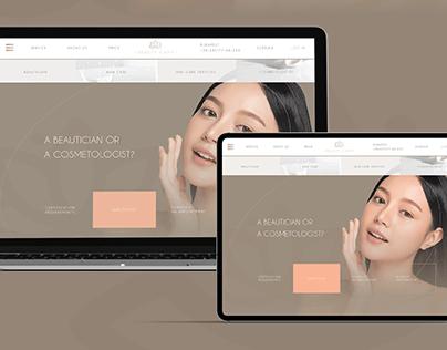 Cosmetology Landing Page / BEAUTY Website