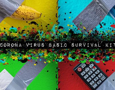 Corona Virus Basic Survival Kit