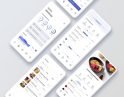 My Fitness Pal - UI/UX Redesign