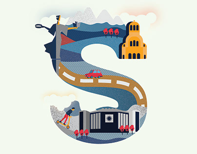 Student Project: Sofia City in the Letter S
