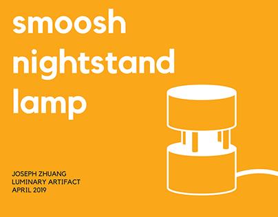 smoosh nightstand lamp