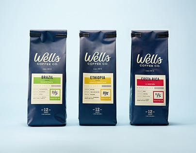 Wells Coffee Packaging
