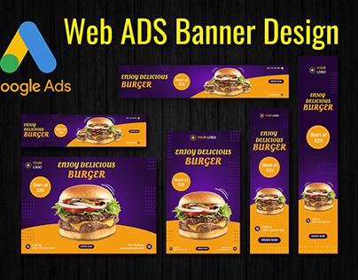 Google Display ADS Banner Design, Web Ads Banner,