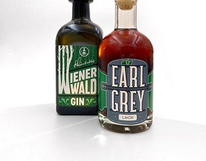 Wienerwald Gin and Earl Grey Liquor