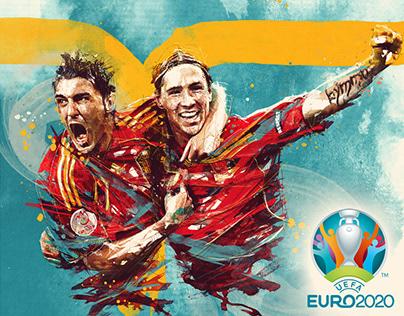 UEFA / Euro 2020 illustrations