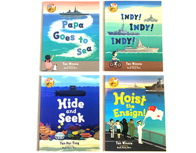 Ahoy, Navy! Picture Book Series