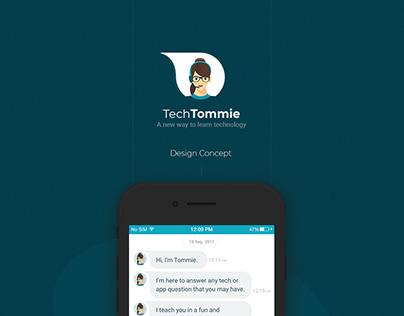 TechTommie - IOS App UI & UX Design