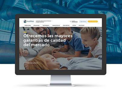 Multitec Website