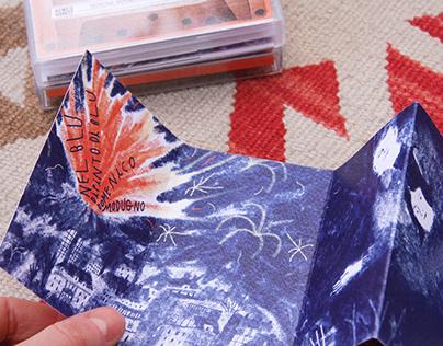 Nel blu dipinto di blu — Cassetta illustrata