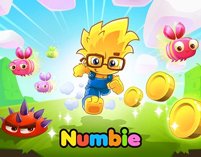 Numbie Run. An Exciting Math Adventure