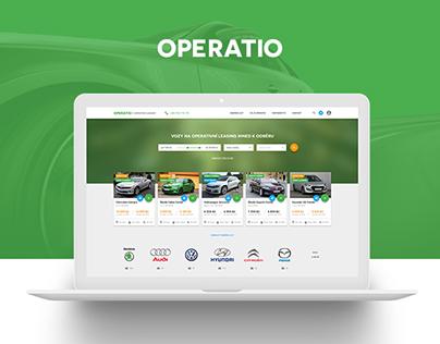 OPERATIO - Web App | UX/UI