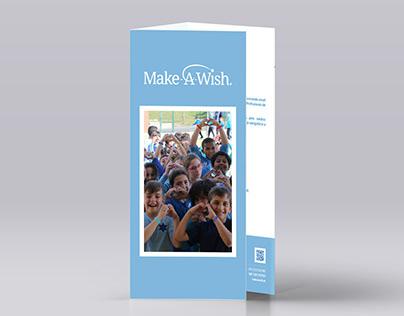Make-A-Wish / Proposta de folheto (Natal)