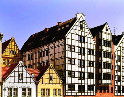 Gdańsk jak z pocztówki.