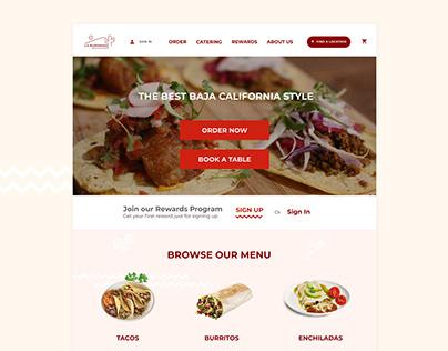 La Rumorosa Concept Website