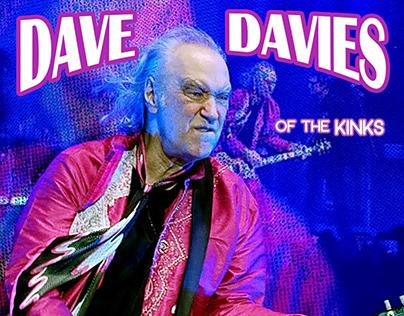 Dave Davies 2019 Tour Poster