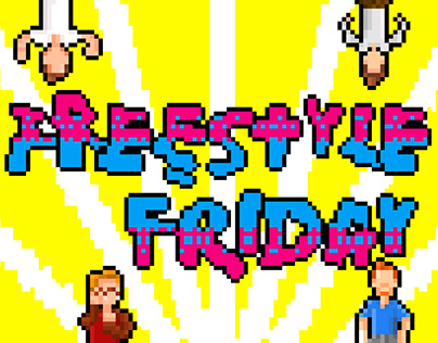Pixel Art Animation for Freestyle Friday